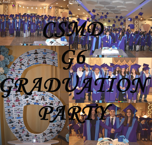 CSMD-G6 Graduation party photos