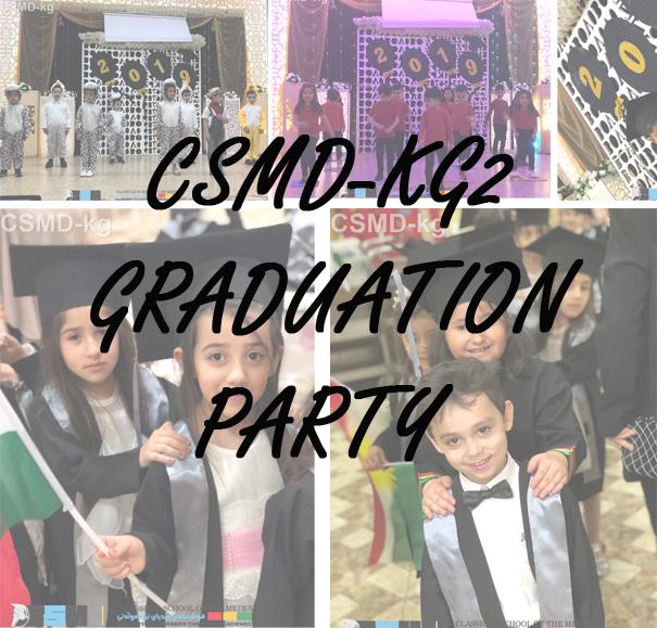 CSMD-KG2 Graduation party photos