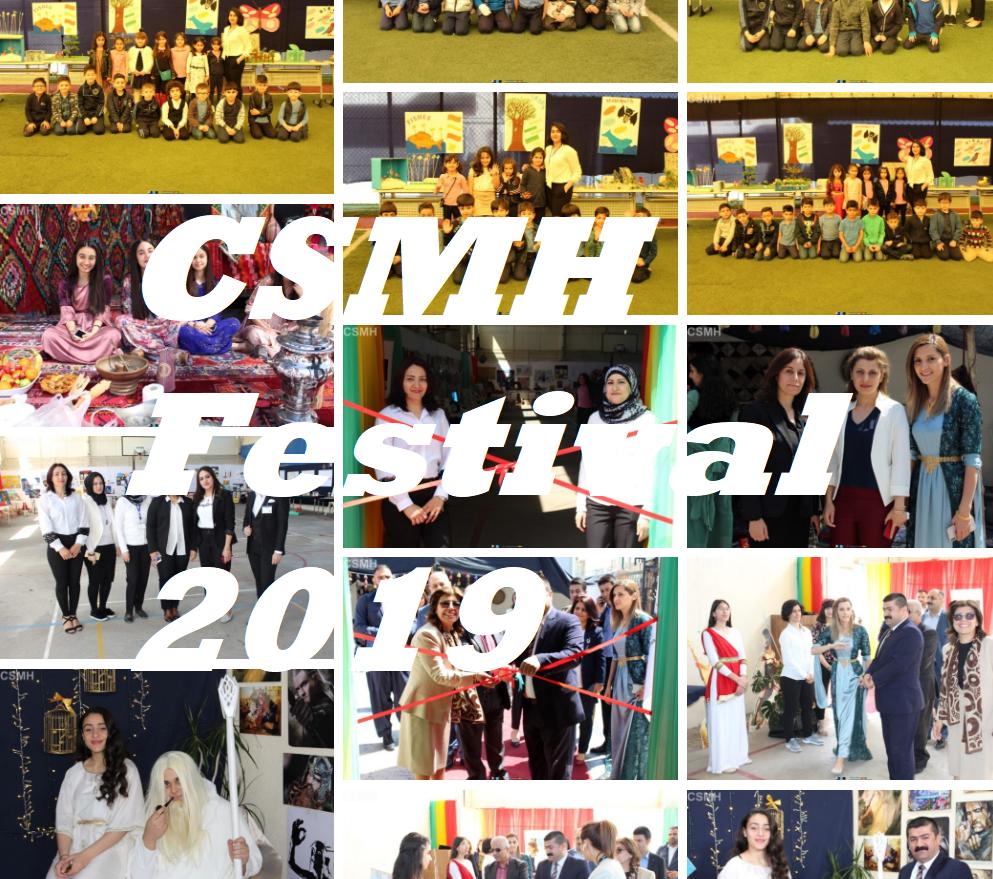 CSMH Festival for year 2018-2019