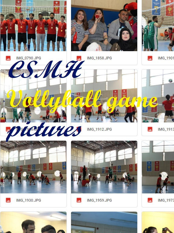 CSMH Volleyball game 2019 pictures