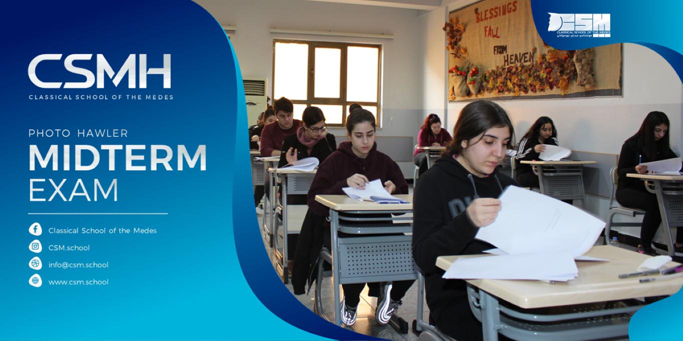 CSMH Midterm Exam Photos